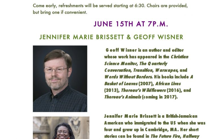 Midweek Literary Reading Series • June 15 @7pm