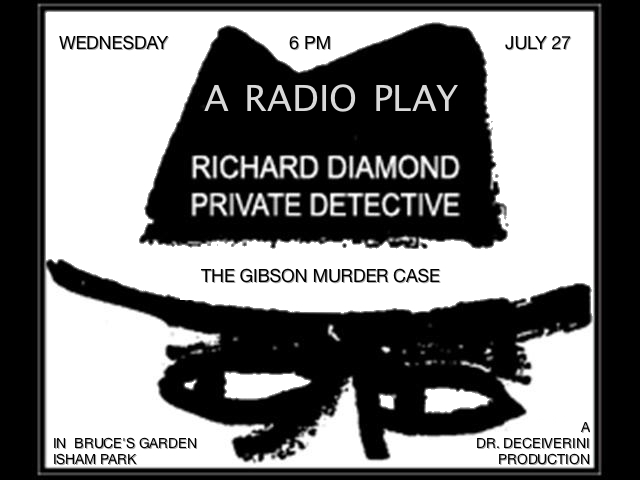 Dr Deceiverini's Radio Plays! • Wednesday July 27 @6pm