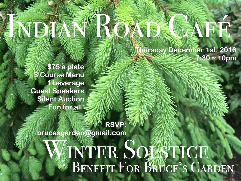 winter solstice benefit for bruce u0027s garden u2013 bruce u0027s garden