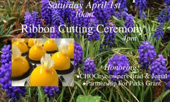 Garden Opens Saturday April 1st @10am • Ribbon Cutting Ceremony @4pm