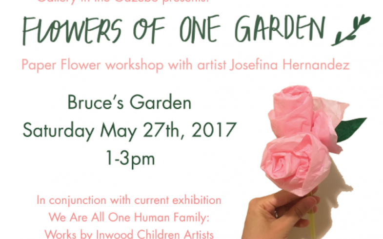 Paper Flower Making Workshop • Saturday May 27th @1pm