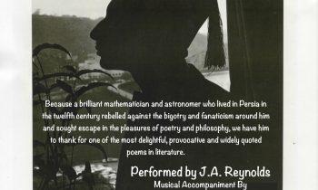 • The Rubaiyat Of Omar Khayyam • Saturday July 15th @7pm