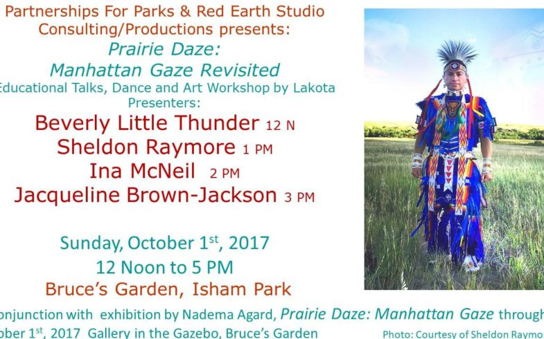 Lakota Presentations: Dance & Art Workshop • Sunday October 1 @12noon