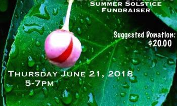 * A TASTE OF * INWOOD Bruce's Garden's Summer Solstice * FUNDRAISER * Thursday June 21 @5pm