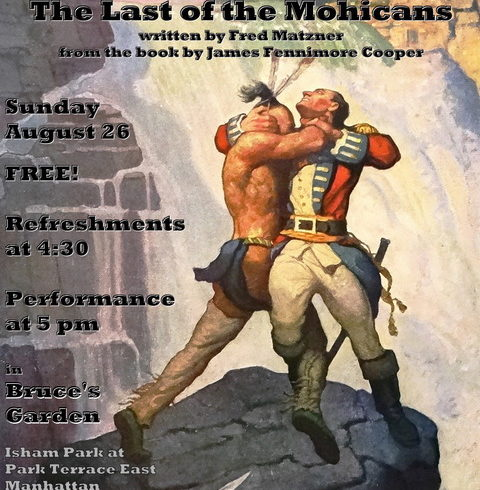 DR. DECEIVERINI • The Last Of The Mohicans • Sunday August 26 @4:30pm