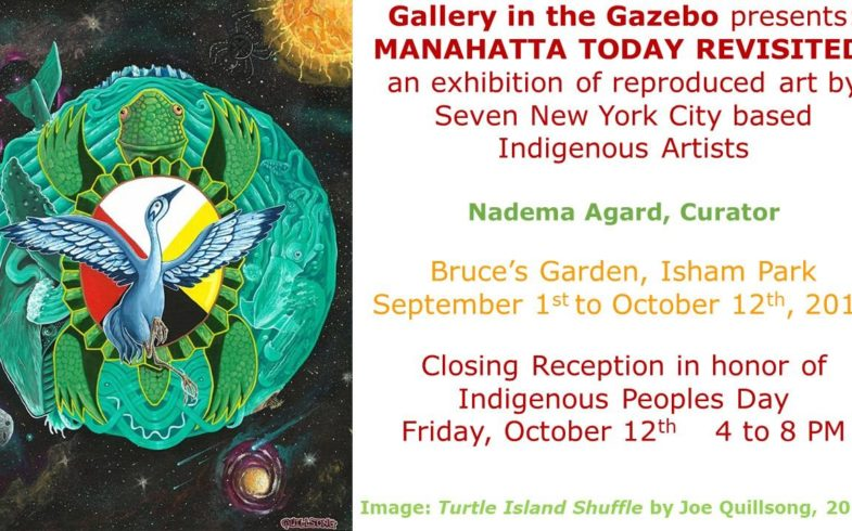Celebration of Indigenous Peoples Day • Friday October 12 @4pm