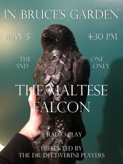 DR. DECEIVERINI • Maltese Falcon • June 2 @ 4:30 pm