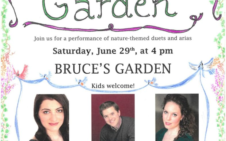 ** RAIN DATE ** The Enchanted Garden-Classical Concert • Saturday August 3rd @4pm